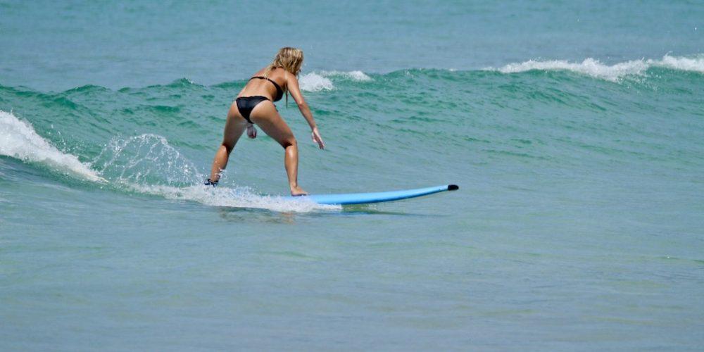 Wordt in 3 maanden een professionele surfinstructeur