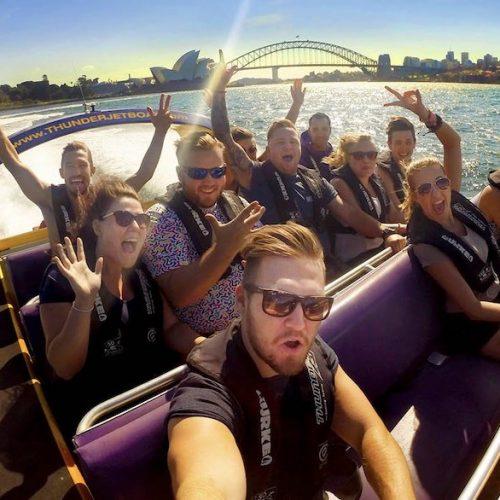 sydney orientation en jet boating