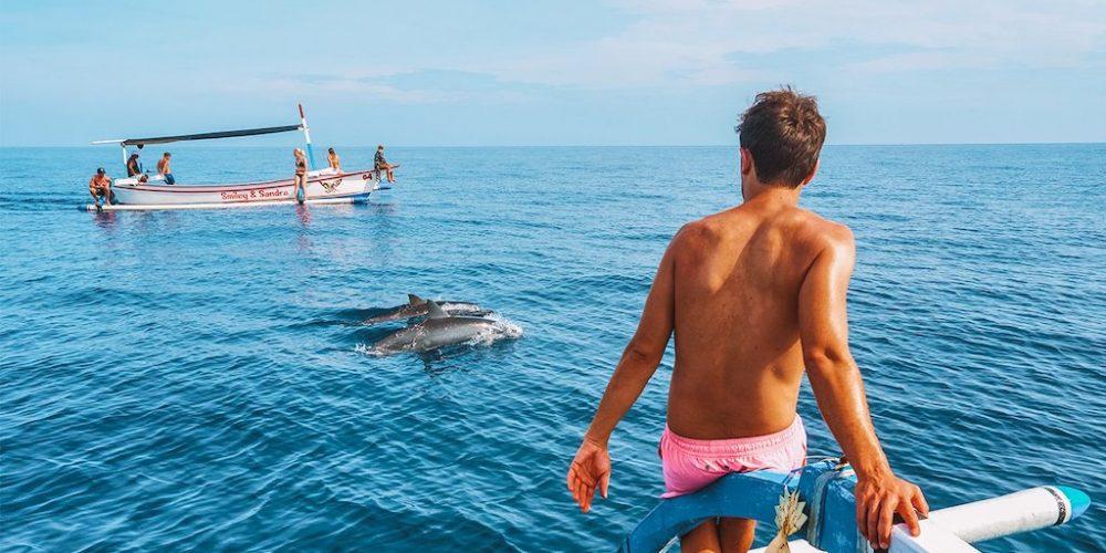 Bali Lovina dolfijnen spotten