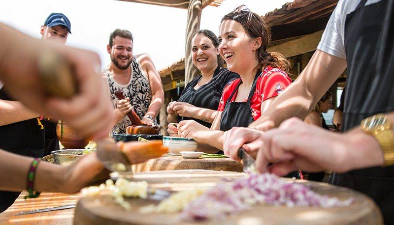 Kampot kookles in Cambodja