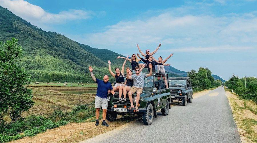 Op safari in Vietnam