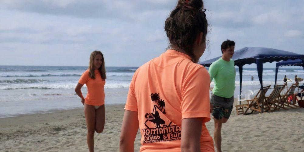 Montanita Surf en Spaans
