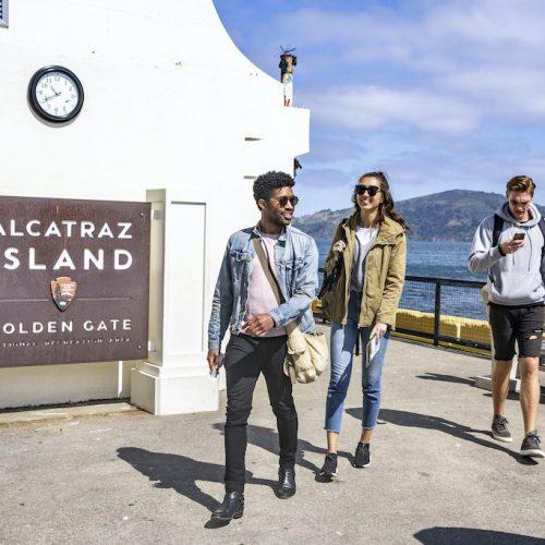 Naar Alcatraz Island met de jongeren groepsreis