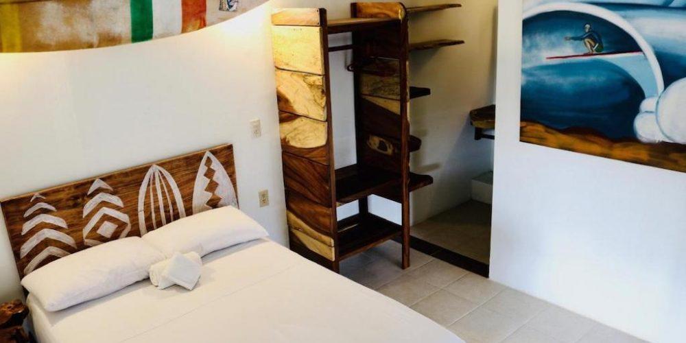 Slaapkamer Surfkamp Mexico