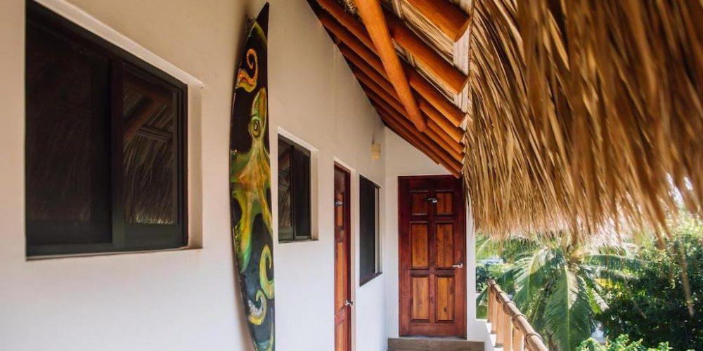 Surfkamp slaapkamers Mexico