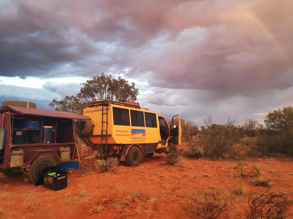 Reis door de outback van Australie met een 4wd