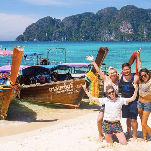 Phi Phi eilanden Thailand