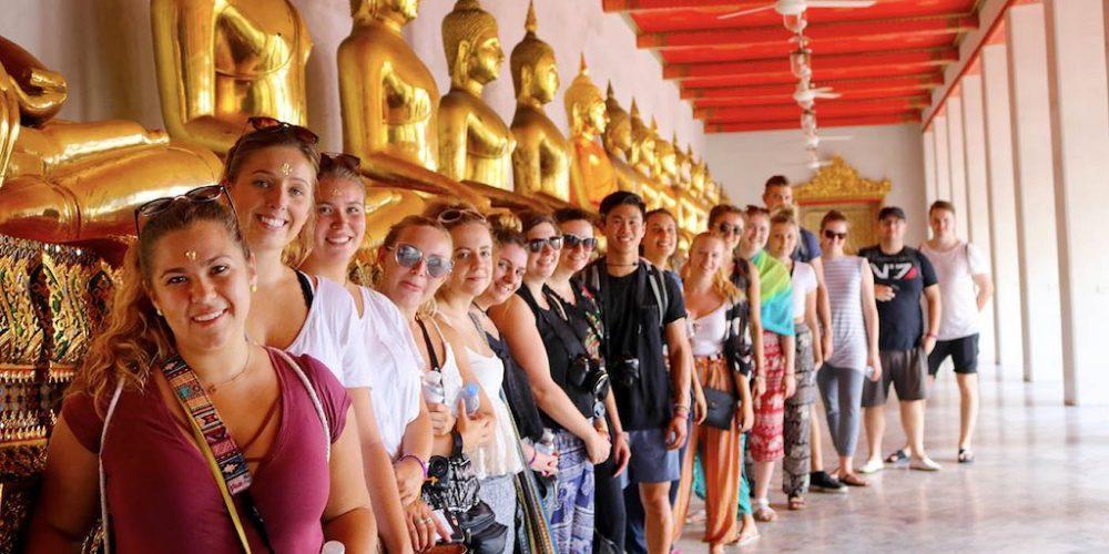 ThaiIand Wanderer reis samen met de groep