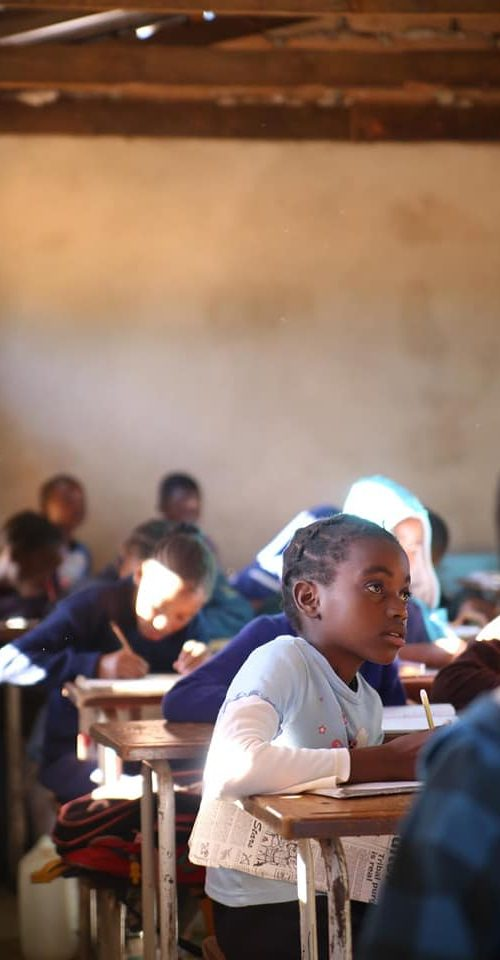 Als vrijwilliger werken in de gemeenschap van Livingstone Zambia