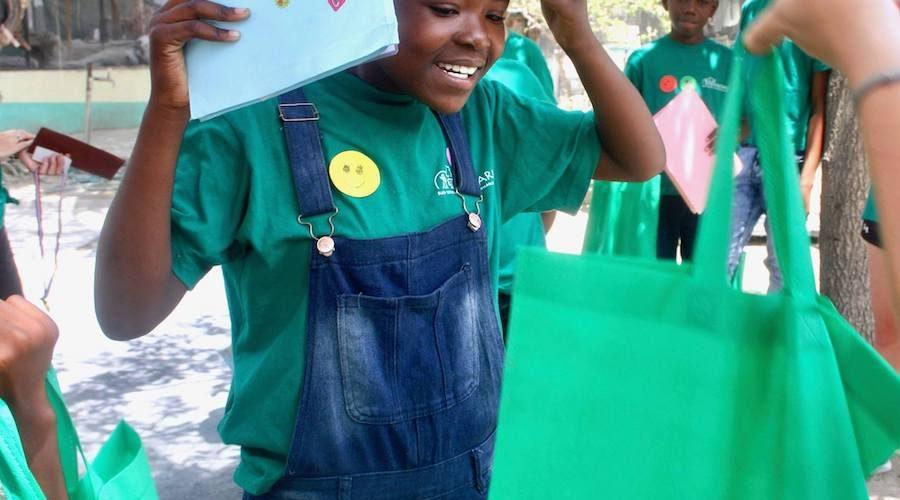 Bush school kinderen in Zuid-Afrika