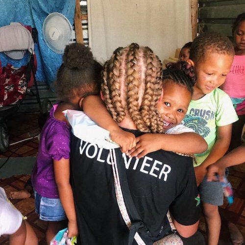 Haal veel voldoening uit het werk van een vrijwilliger