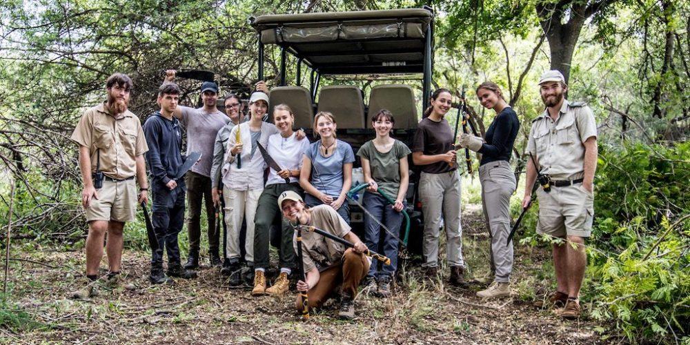 Help bij het behoud van de wilde dieren en de natuur in Zuid-Afrika