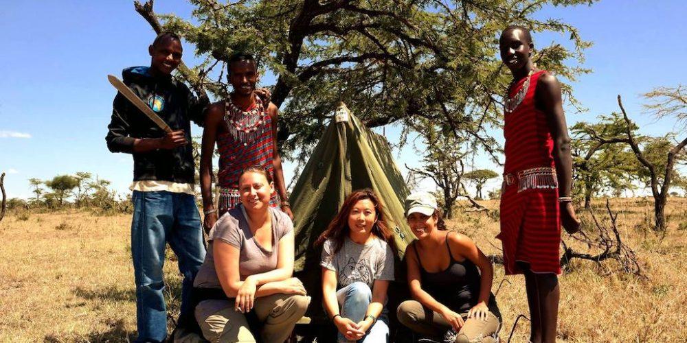 Help de Masai in balans met de Big Cats