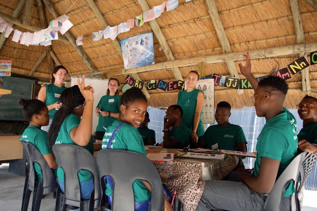 Klassikaal werken met jongeren in Zuid-Afrika