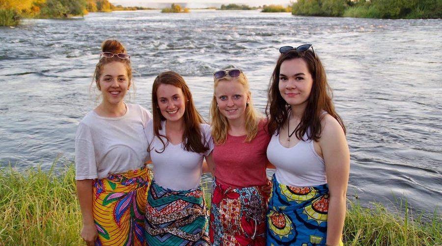 Maak vrienden met vrijwilligers in Zambia