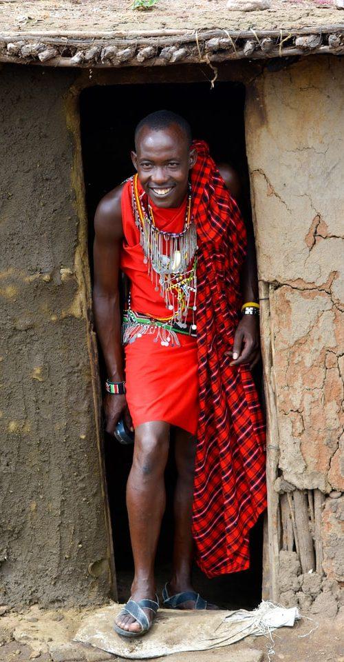 Masai Mara stam in Kenia