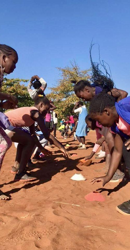 Sport en Community vrijwilligerswerk project in Afrika