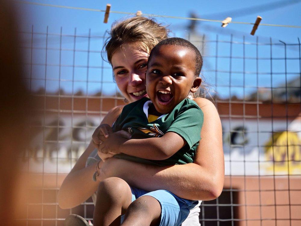 Sport en Surf Kidsclub vrijwilligerswerk project in Zuid-Afrika