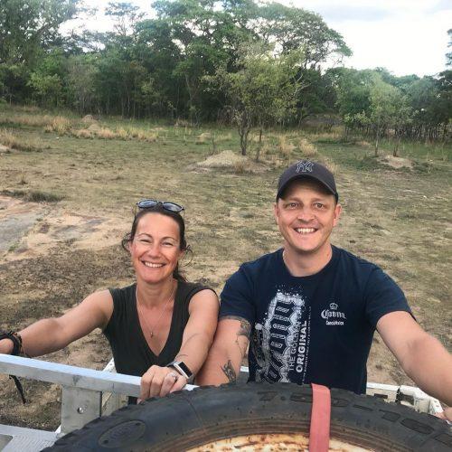Vrijwilligers aan het werk in Zimbabwe