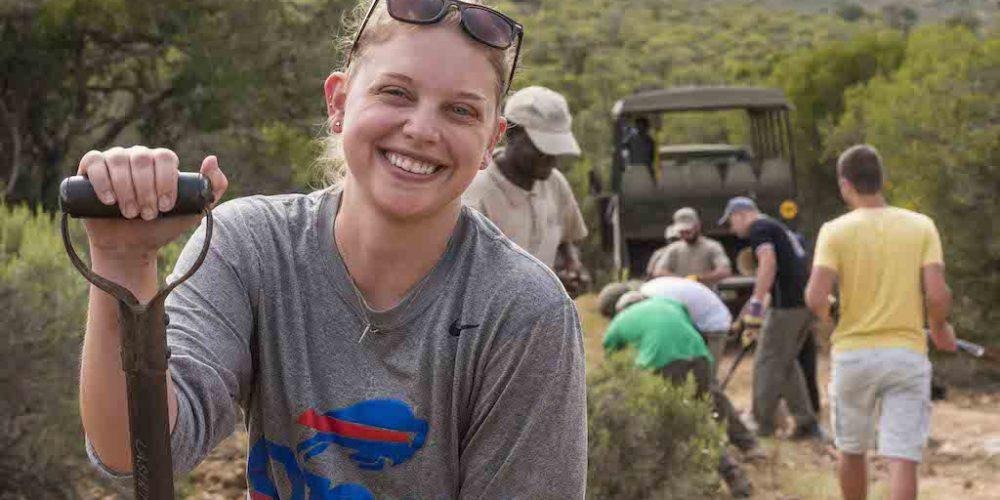 Werken in het Big 5 natuurgebied van Zuid-Afrika