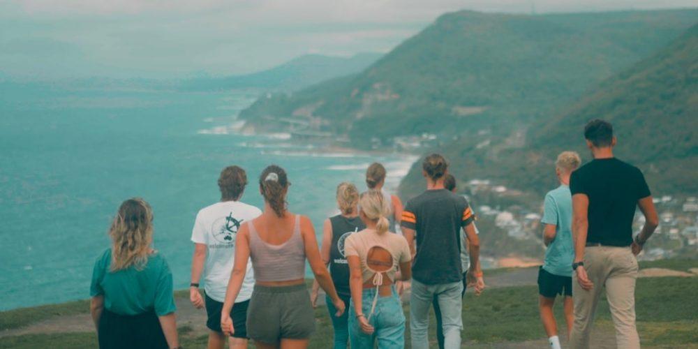 Bald Hill wandeling met tussenjaar in Australie