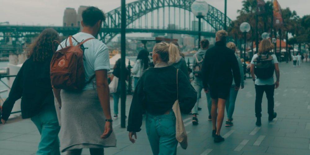 Circular Quay Walk tijdens werkvakantie in Australie