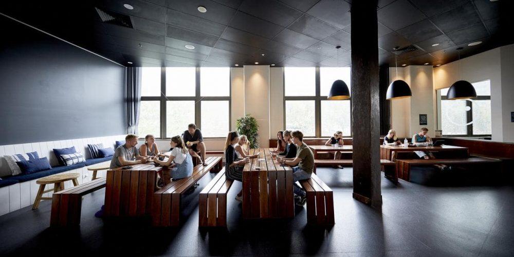 Gemeenschappelijke ruimte om werk te zoeken in Australie