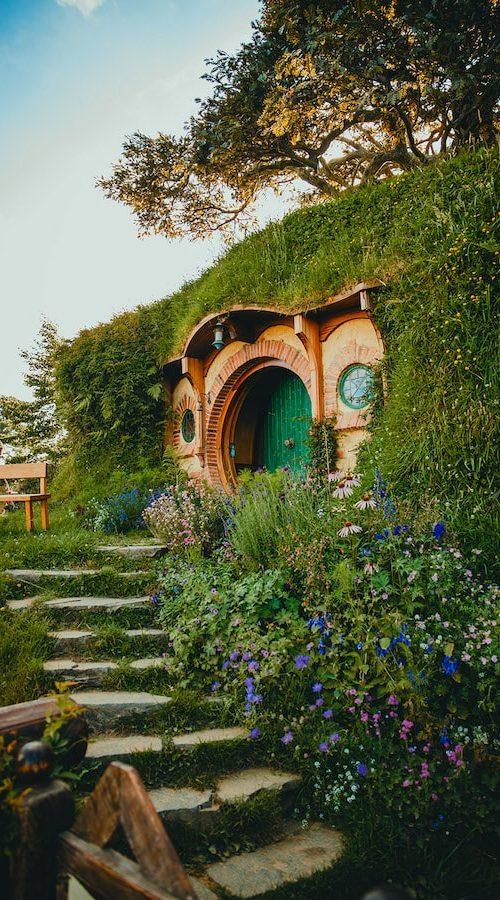 Hobbiton Town bezoeken in Nieuw-Zeeland