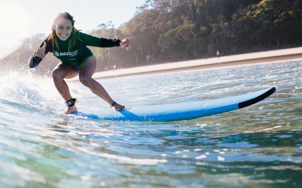 Surfinstructeur cursus in Australie en wordt surfleraar