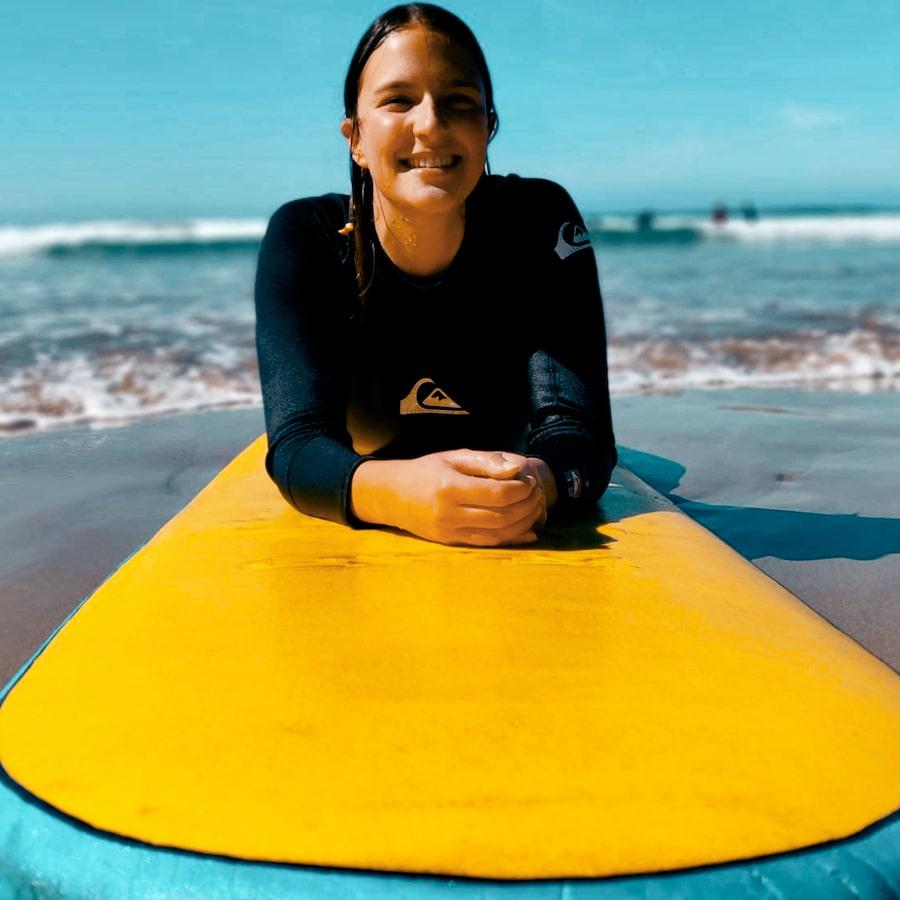 Surflessen tijdens werkvakantie in Melbourne