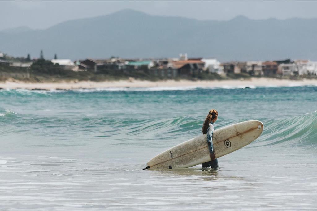 Surflessen volgen in Zuid-Afrika