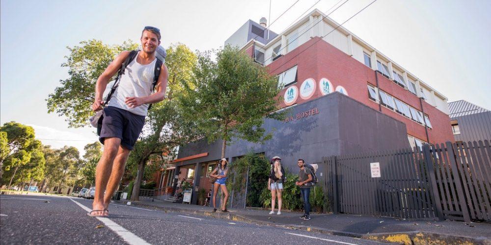 YHA hostel Melbourne tijdens werkvakantie
