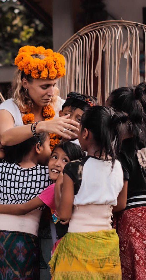 Afscheid nemen van het Engels lesgeven vrijwilligerswerk op Bali