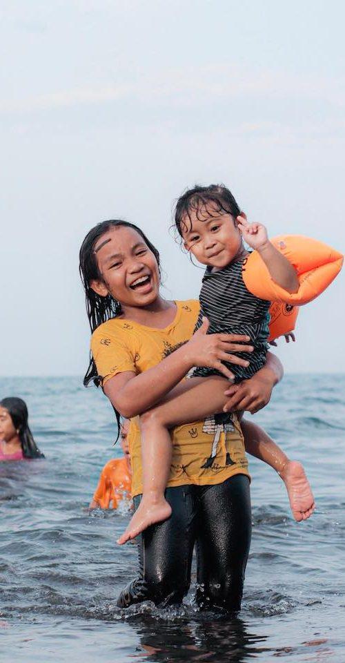 Happy Bali kids