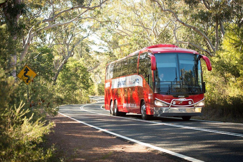 Greyhound busreizen door Australië met Oak Travel